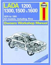 Lada 1200, 1300, 1500 & 1600 1974 - 1991 Haynes Owners Service & Repair Manual