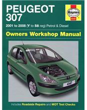 Peugeot 307 (Petrol & Diesel) 2001 - 2008 Haynes Owners Service & Repair Manual