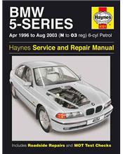 BMW 5 Series (E39) 6 Cylinder Petrol 1996 - 2003