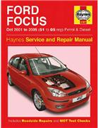 Ford Focus (LR) Petrol & Diesel 2001-2005 Haynes Owners Service & Repair Manual