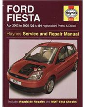 Ford Fiesta Petrol & Diesel 2002 - 2008 Haynes Owners Workshop Manual