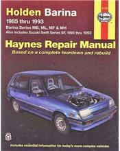 Holden Barina 1985 - 1993 / Suzuki Swift 1990 - 1993
