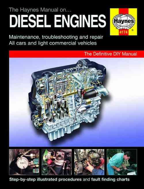 The Haynes Manual on Diesel Engines : The Definitive DIY Manual - Front Cover