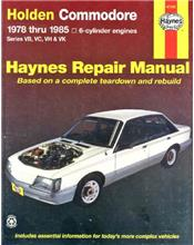 Holden Commodore VB, VC, VH & VK (6 Cylinder) 1978 - 1985