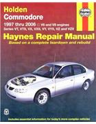 Holden Commodore VT to VZ II 1997 - 2006 Haynes Owners Service & Repair Manual