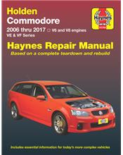 Holden Commodore VE & VF (V6 & V8) 2006 - 2017 Haynes Repair Manual