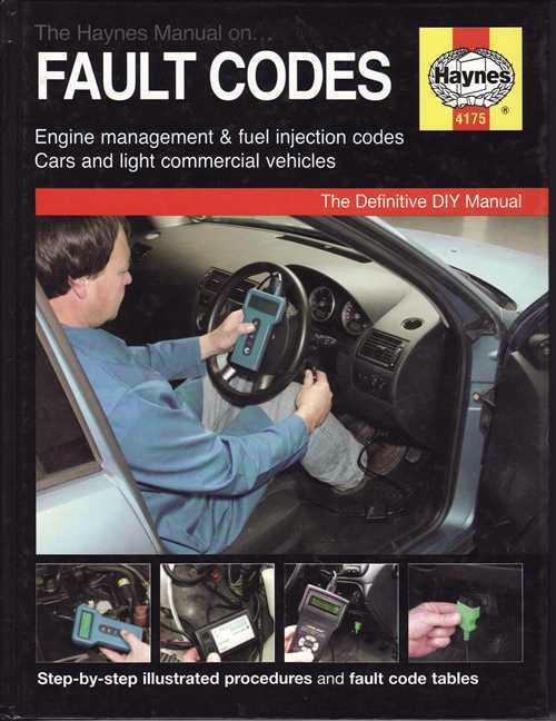 Engine Management & Fuel Injection Fault Codes: Haynes Manual - Front Cover