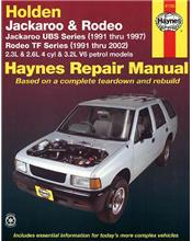 Holden Jackaroo (UBS) 1991 - 1997 & Rodeo (TF) 1991 - 2002