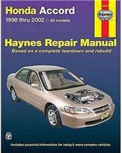 Honda Accord 1998 - 2002 Haynes Owners Service & Repair Manual