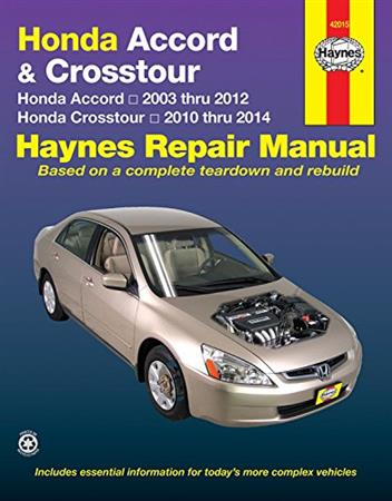 2005 honda accord owners manual