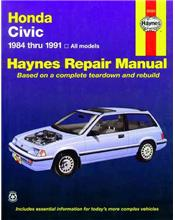 Honda Civic 1984 - 1991 Haynes Owners Service & Repair Manual