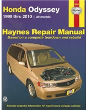 Honda Odyssey 1999 - 2010 Haynes Owners Service & Repair Manual