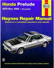 Honda Prelude CVCC 1979 - 1989 Haynes Owners Service & Repair Manual