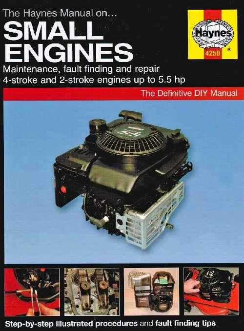 Small Engines Manual Haynes Owners Service & Repair Manual - Front Cover