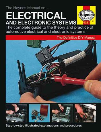 Automotive Electrical and Electronic Systems Haynes Manual - Front Cover