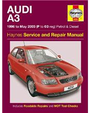 Audi A3 (Petrol & Diesel) 1996 - 2003 Haynes Owners Service & Repair Manual