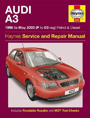 Audi A3 Petrol & Diesel 1996 - 2003 Haynes Owners Service & Repair Manual - Front Cover