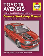 Toyota Avensis 1998 - 2003 Haynes Owners Service & Repair Manual