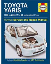 Toyota Yaris (Echo) Petrol 1999 - 2005 Haynes Owners Service & Repair Manual