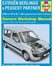 Citroen Berlingo & Peugeot Partner (Petrol & Diesel) 1996 - 2010