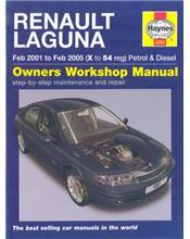 Renault Laguna II (Petrol & Diesel) 2001 - 2007