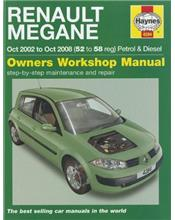Renault Megane Petrol & Diesel 2002 - 2008 Haynes Owners Service & Repair Manual