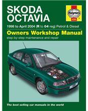 Skoda Octavia Petrol & Diesel 1998 - 2004 Haynes Owners Service & Repair Manual