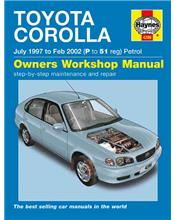 Toyota Corolla (AE112R) 1997 - 2002 Haynes Owners Service & Repair Manual