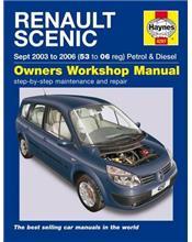 Renault Scenic Petrol & Diesel 2003 - 2006 Haynes Owners Service & Repair Manual