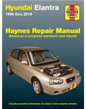 Hyundai Elantra 1996 - 2013 Haynes Owners Service & Repair Manual