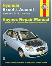 Hyundai Excel, Accent 1986 - 2013 Haynes Owners Service & Repair Manual