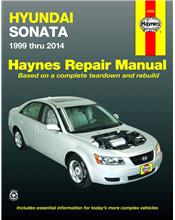 Hyundai Sonata 1999 - 2014 Haynes Owners Service & Repair Manual