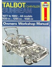 Talbot/Chrysler Sunbeam (Petrol) 1977 - 1982