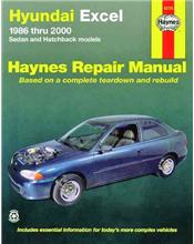 Hyundai Excel 1986 - 2000 Haynes Owners Service & Repair Manual