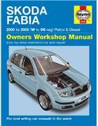 Skoda Fabia 2000 - 2006 Haynes Owners Service & Repair Manual - Front Cover