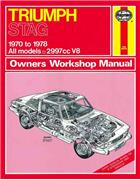Triumph Stag 1970 - 1978 Haynes Owners Service & Repair Manual