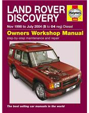 Land Rover Discovery Td5 Series 2 (Diesel) 1998 - 2004