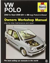 VW Volkswagen Polo Petrol & Diesel 2002 - 2009