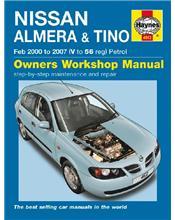 Nissan Almera & Tino (N16 Pulsar) Petrol 2000 - 2007