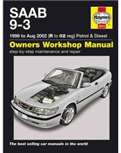 Saab 9-3 Petrol & Diesel 1998 - 2002 Haynes Owners Service & Repair Manual