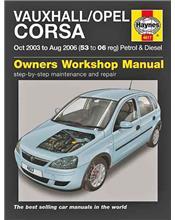 Vauxhall / Opel Corsa (Holden Barina) Petrol & Diesel 2003 - 2006