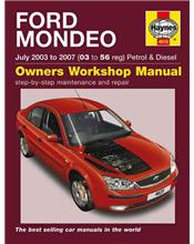 Ford Mondeo Petrol & Diesel 2003 - 2007 Haynes Owners Service & Repair Manual