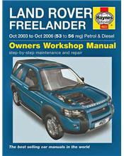 Land Rover Freelander Petrol & Diesel 2003 - 2006