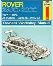 Rover 2300 2600 1977 - 1979 Haynes Owners Service & Repair Manual