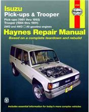 Isuzu Pick-Ups & Trooper (Petrol) (Holden Jackaroo / Rodeo) 1981 - 1993