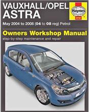 Vauxhall / Opel Astra Petrol 2004 - 2008 Haynes Owners Service & Repair Manual