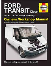 Ford Transit Diesel 2000 - 2006 Haynes Owners Service & Repair Manual