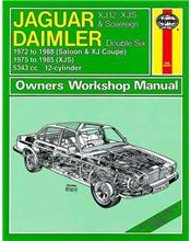 Jaguar XJ12, XJ-S (XJS) & Sovereign Daimler Double Six 1972 - 1988