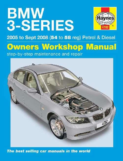 BMW 3 Series (E90) & Touring (E91) Petrol & Diesel 2005 - 2008 - Front Cover