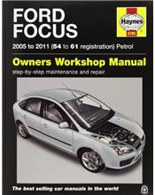 Ford Focus (Petrol) 2005 - 2011 Haynes Owners Service & Repair Manual